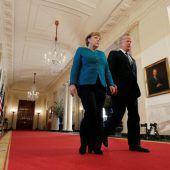 Merkel auf schwieriger Mission