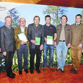 Schutzwald-Projekte vor den Vorhang geholt