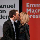 Umfrage sieht Macron in erster Runde vorn