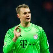 Bayern-Keeper Neuer verpasst zwei Spiele