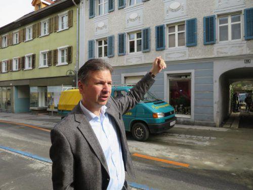 Markus Schadenbauer-Lacha hat neues Leben ins Zentrum gebracht.