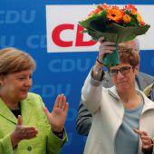 CDU-Etappensieg für Merkel ermutigend