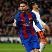 Messi knackte wieder einmal 40-Tore-Marke