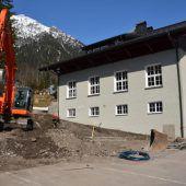 Neue Unterkunft für Waldner Feuerwehrautos
