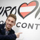 Nathan Trent will für Österreich ins ESC-Finale