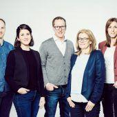 Neue Führungsriege im PR-Verband Vorarlberg