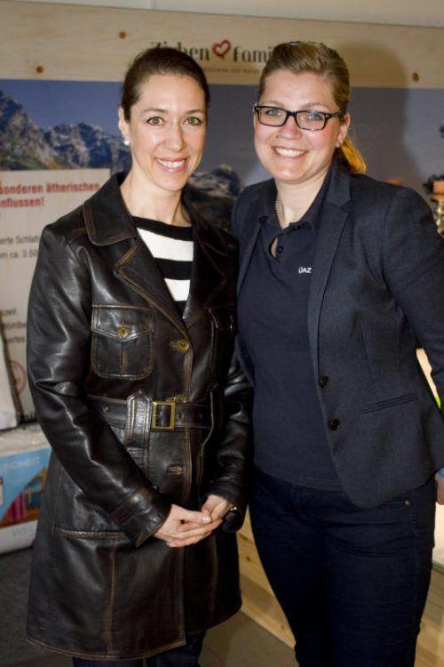 Petra Nitz (HRM) und Sozial-Pädagogin Janette Weigmann.