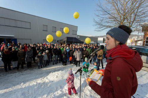 Protest gegen Ölz in Weiler – jüngstes Beispiel für einen Interessenkonflikt bei der Bodennutzung.  Foto: VN