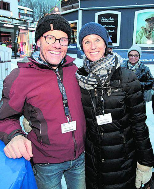 Rainer Meier und Andrea Schuler.