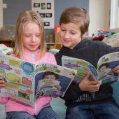 Kindgerechte Nachrichten als monatliche Zeitung