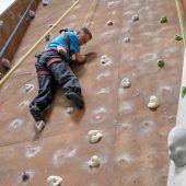 Klettern auch mit Handicap