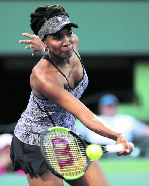 Sieg gegen Angelique Kerber: Venus Williams. Foto: ap