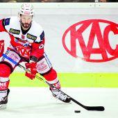 Klagenfurt gewann in der Overtime mit 4:3