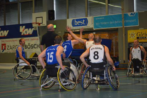 Spitzen-Rollstuhl-Basketball wird am Wochenende in Altach geboten. Mäser
