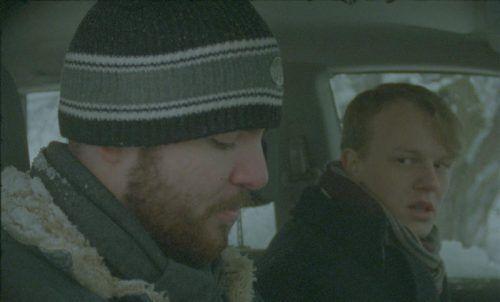 "Szene aus dem bei eisiger Kälte gedrehten Kurzfilm ""Neujohr"" des Vorarlbergers Felix Kalaivanan. Foto: Diagonale"