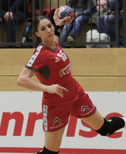 Tamara Bösch bestritt bislang 46 A-Länderspiele und erzielte dabei 53 Tore.gepa