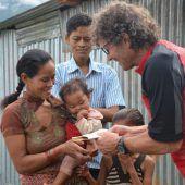 Ein Gipfelstürmer im Hilfseinsatz in Nepal