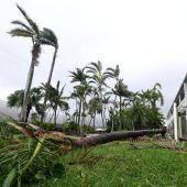 Zyklon Debbie traf Australien mit Wucht