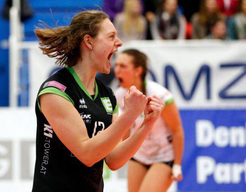 Ursula Ehrhart steht mit Graz im Halbfinale. Foto: GEPA