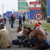 Deutlicher Rückgang bei Asylanträgen in Österreich