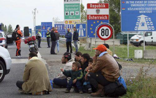 Viel weniger Menschen suchten um Asyl an.  Foto: AP