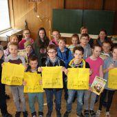 Schüler im Einsatz fürs Kinderdorf in Bregenz