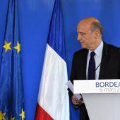 Juppé lehnt eine Ersatzkandidatur für den angeschlagenen Fillon ab