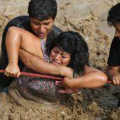 El Niño sorgt in Peru für enorme Zerstörung