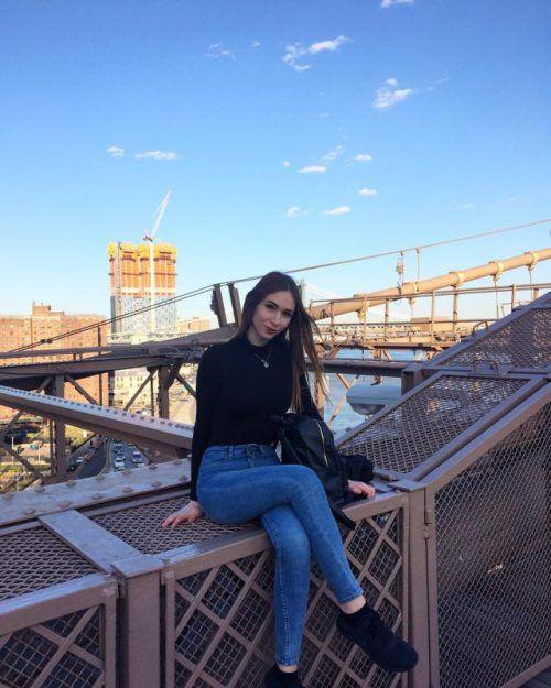 Vizemiss Milanka aus Dornbirn trat vergangene Woche ihre Reise nach New York an. Foto: Maksimovic