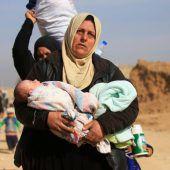 Armee kesselt IS-Kämpfer in Mossul ein