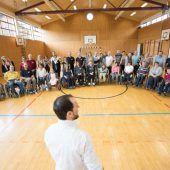 Im Rollstuhl auf das Tanzparkett
