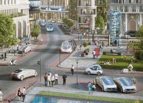 260.000 Unfälle sollen durch vernetztes Fahren jährlich weltweit verhindert werden können. Foto: werk