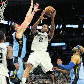 Cavaliers und Spurs mit Sieg Nummer zwei
