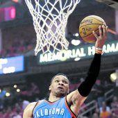 Westbrook und Co. scheiterten an den Rockets
