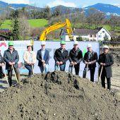 Baustart in Schlins