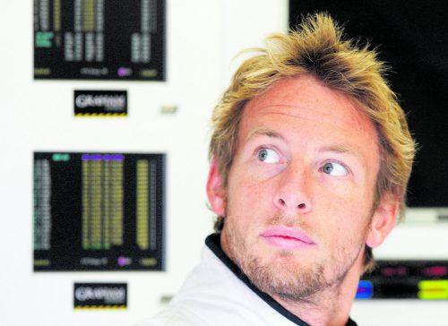 Als Ersatz für Alonso im Gespräch: Jenson Button. Foto: reuters
