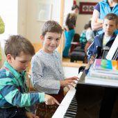 Musikschulen öffnen Türen