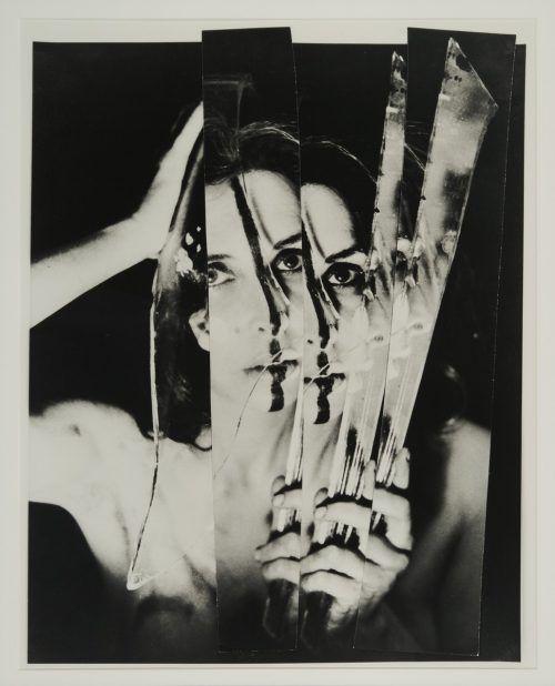 """""""Eye Body"""", 1963, von Carolee Schneemann. mdm moenchsberg"""