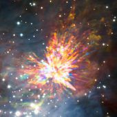 Explosive Sternengeburt