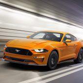 Mustang hat die Nase vorne