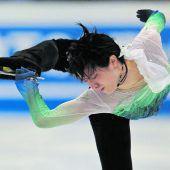 Yuzuru Hanyu krönte sich zum Champion