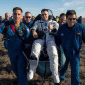 ISS-Raumfahrer sind auf die Erde zurückgekehrt