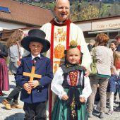 Erstkommunion am  Weißen Sonntag