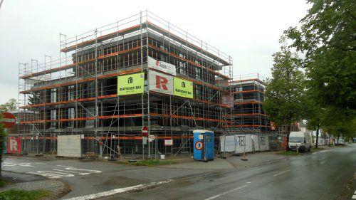 Brändlepark: in der Josef-Huter-Straße entsteht neuer Wohnraum.