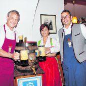 Zünftiger Biergenuss im Traditionsgasthaus