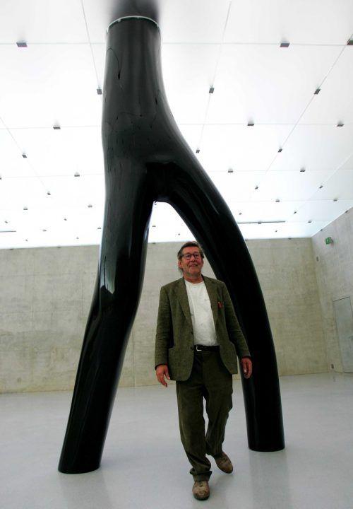 Das Kunsthaus Bregenz widmete Gottfried Bechtold vor einiger Zeit eine große Ausstellung.  Foto: VN