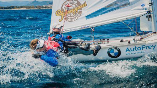 Für das 470er-Duo David Bargehr/Lukas Mähr geht es ab morgen mit der EM vor Monaco weiter. Fotos: Verband