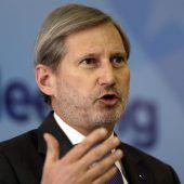 Hahn will Neubewertung der Türkei-Beziehungen