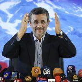 Ahmadinedschad meldet sich zurück