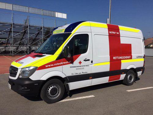 Der neue Wagen der Lustenauer Rettungsabteilung. Foto: mima